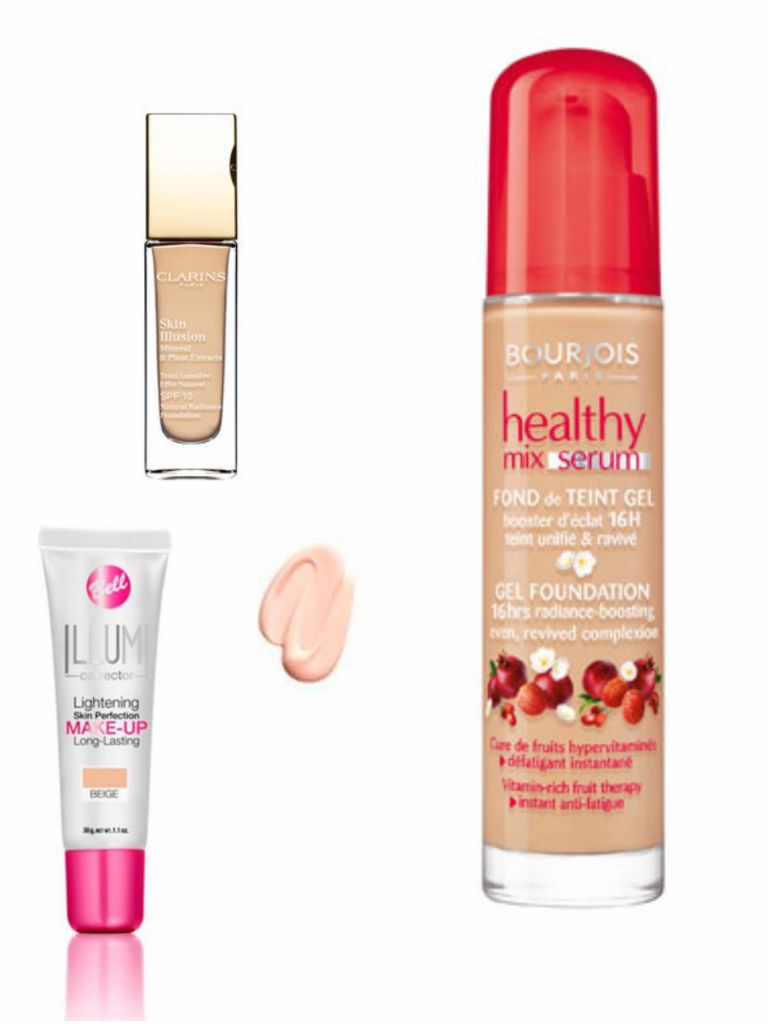 bases clarins, bell y bourjois 02